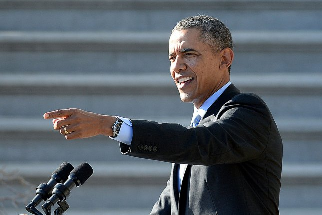 President Barack Obama on the South Lawn of the White House on March 10 2014 in Washington D.C. (UPI/Olivier Douliery/Pool)