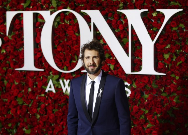 Josh Groban's musical Great Comet of 1812 earned a leading 12 Tony Award nominations Tuesday. File Photo by John Angelillo/UPI
