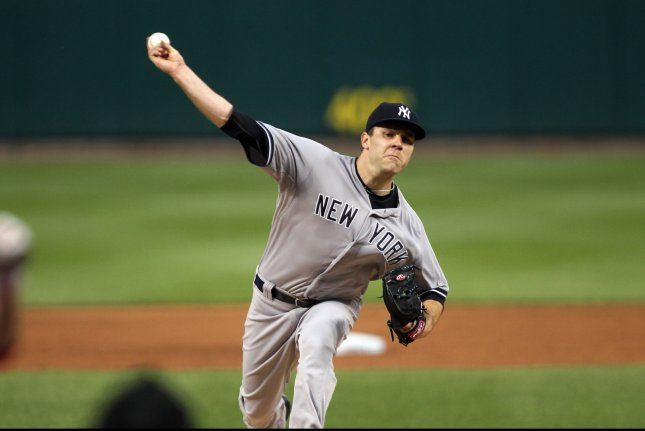 David Phelps has been traded from Miami Marlins to the Seattle Mariners. UPI/Bill Greenblatt