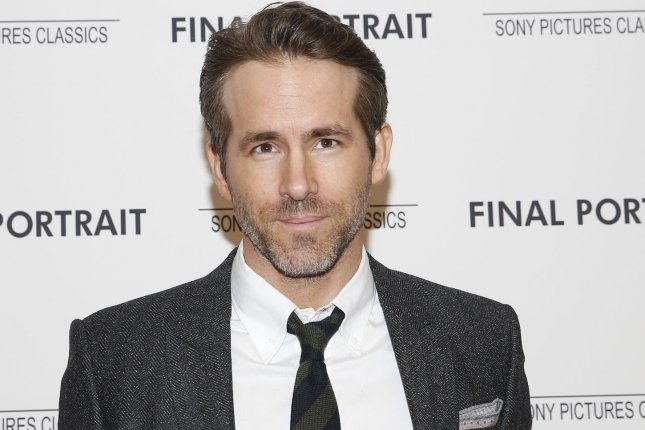 Ryan Reynolds discussed Deadpool 2 and played a round of Drinko on The Tonight Show Starring Jimmy Fallon. File Photo by John Angelillo/UPI