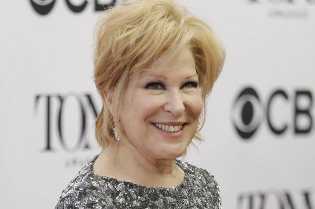 Bette Midler will be guest-starring on Murphy Brown along with Katie Couric and others. File Photo by John Angelillo/UPI