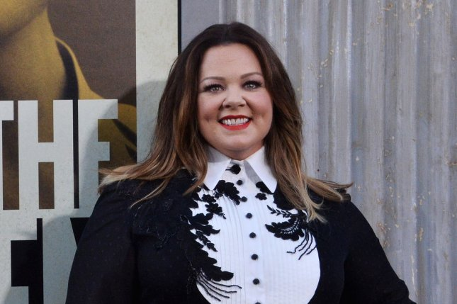 Melissa McCarthy stars in the new HBO Max movie Superintelligence. File Photo by Jim Ruymen/UPI