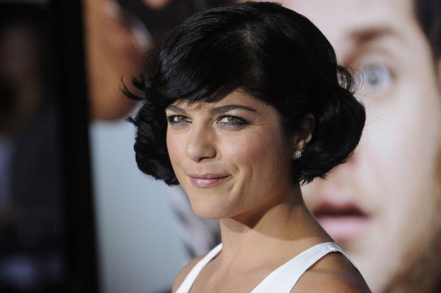 Actress Selma Blair attends the premiere of the film Get Him to the Greek at the Greek Theatre in Los Angeles on May 25, 2010. File Photo by Phil McCarten/UPI