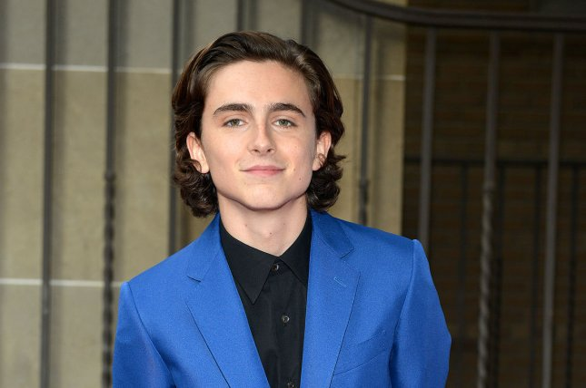 Timothee Chalamet arrives at the premiere of Call Me by Your Name at the 42nd Toronto International Film Festival on September 7. The movie was nominated for six Independent Spirit Awards Tuesday. File Photo by Christine Chew/UPI