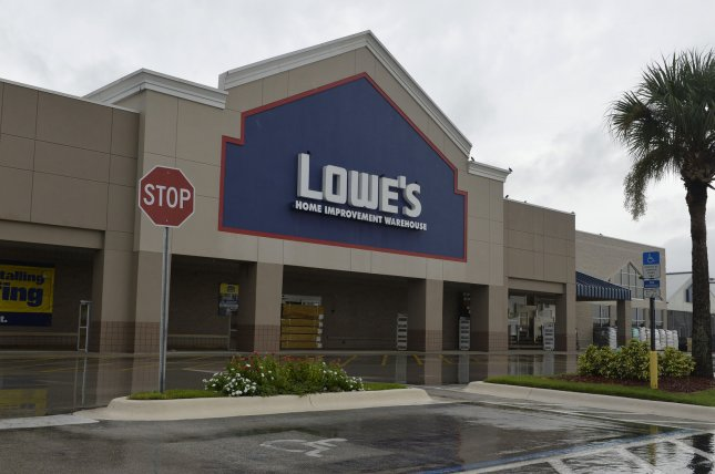 Home improvement retailer Lowe's announced Monday it will close 51 low-performing stores in the United States and Canada. File Photo by Joe Marino/UPI