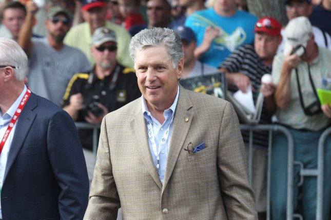 Tom Seaver (shown in 2014) was inducted into the Baseball Hall of Fame in 1992. His family announced Thursday that he has been diagnosed with dementia. File Photo by Bill Greenblatt/UPI