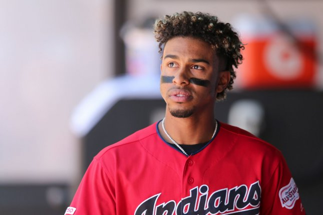 Cleveland Indians infielder Francisco Lindor recorded a .258 batting average with eight home runs and 27 RBIs in 60 games last season. File Photo by Aaron Josefczyk/UPI