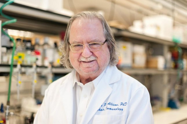 James P. Allison, pictured here, of the University of Texas MD Anderson Cancer Center and Tasuku Honjo of Kyoto University were jointly awarded the Nobel Prize in Physiology or Medicine 2018 on Monday. Photo courtesy University of Texas MD Anderson Cancer Center