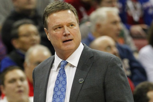 University of Kansas head coach Bill Self now is under contract until he decides to retire. File Photo by John Sommers II/UPI