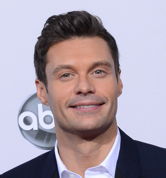 TV personality Ryan Seacrest arrives at the 40th Annual American Music Awards in Los Angeles on November 18, 2012. UPI/Jim Ruymen