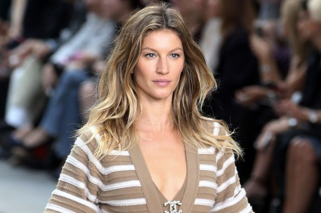 Gisele Bundchen takes to the catwalk during the presentation of Chanel's 2015 Spring-Summer ready-to-wear collection during Fashion Week in Paris, on September 30, 2014. Bundchen tops Forbes' list of highest-earning models. File Photo by Eco Clement/UPi
