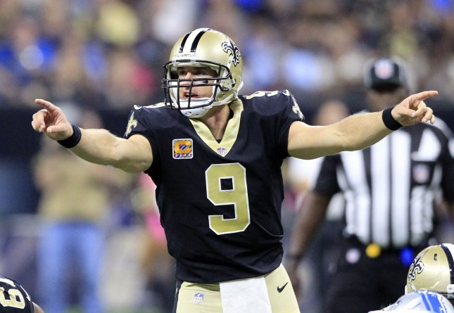 Drew Brees and the New Orleans Saints face the Green Bay Packers this weekend. Photo by AJ Sisco/UPI