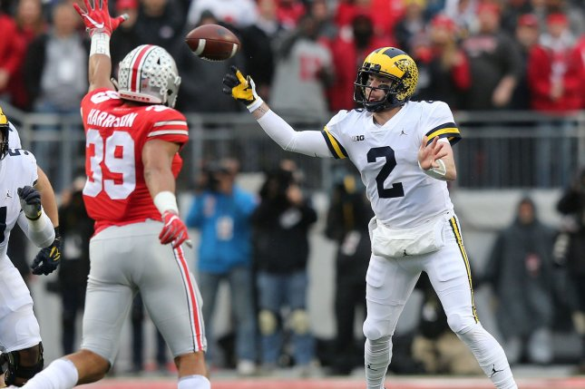 Chiefs reach deal with ex-Michigan QB Shea Patterson