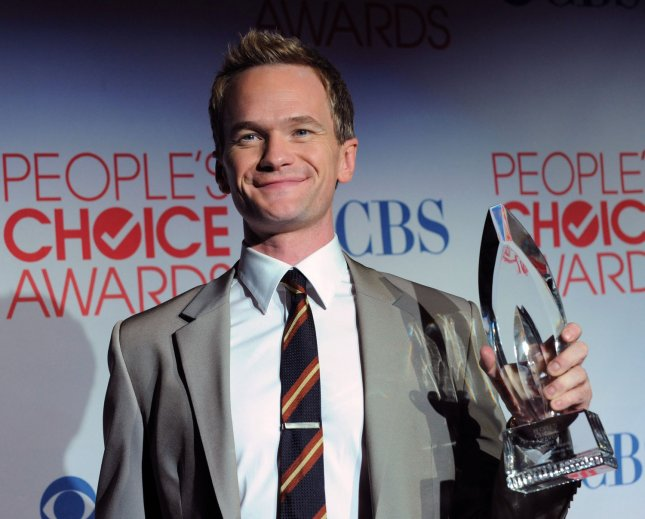Neil Patrick Harris appears backstage with the favorite TV comedy actor award he garnered during the 38th annual People's Choice Awards at the Nokia Theatre in Los Angeles on January 11, 2012. UPI/Jim Ruymen
