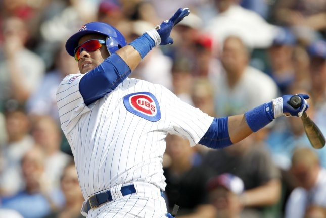 Chicago Cubs third baseman Aramis Ramirez, shown during a game in June 2011, agreed to a three-year contract with the Milwaukee Brewers. He played for the Cubs since June 2003. UPI /Mark Cowan