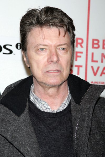 David Bowie arrives for the Tribeca Film Festival premiere of Moon at the Tribeca Performing Arts Center/BMCC in New York on April 30, 2009. (UPI Photo/Laura Cavanaugh)