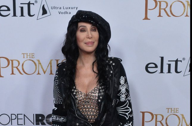 Cher attends the premiere of The Promise in Los Angeles on April 12. She reportedly will appear in the Mamma Mia! sequel. File Photo by Jim Ruymen/UPI
