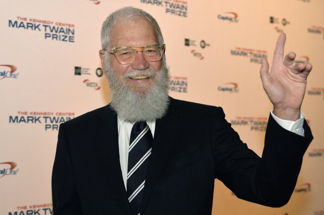 David Letterman's new show is to debut on Netflix Jan. 12. File Photo by Mike Theiler/UPI
