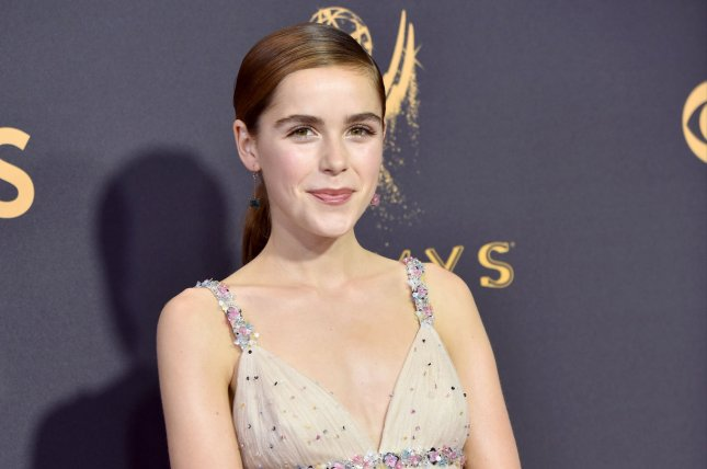 Kiernan Shipka will have a starring role in Netflix's adaptation of Let It Snow. File Photo by Christine Chew/UPI