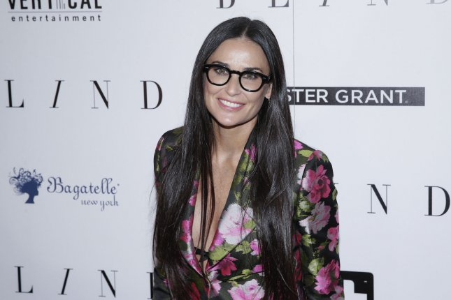 Demi Moore's upcoming memoir will explore her career and personal life. File Photo by John Angelillo/UPI