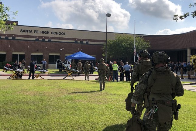 On May 18, 2018, 10 people -- eight students and two teachers -- died after a fellow student opened fire at Santa Fe High School, near Houston. File Photo courtesy of the Harris County Sheriff's Office
