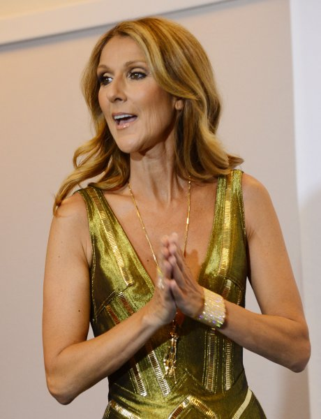 Celine Dion arrives at the 2013 Billboard Music Awards at the MGM Grand Hotel in Las Vegas, Nevada on May 19, 2013. UPI/Jim Ruymen