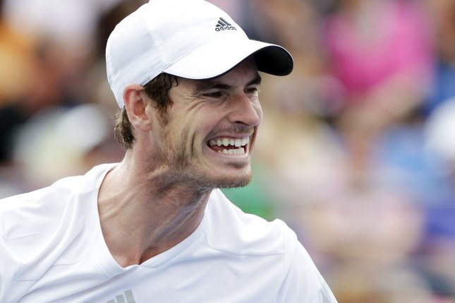Andy Murray beat Nicolas Mahut to advance to the second round of the ABN AMRO World Tennis Tournament in Rotterdam. File Photo by John Angelillo/UPI