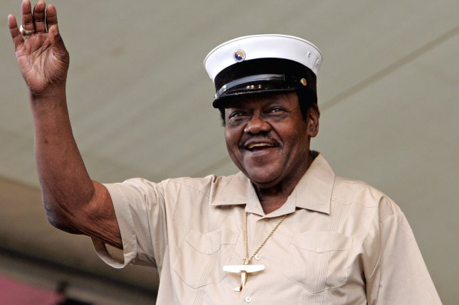Singer and pianist Fats Domino has died at the age of 89. File Photo by Judi Bottoni/UPI