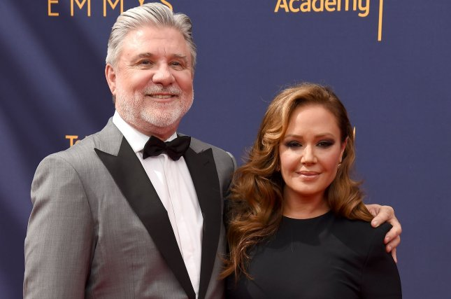 Scientology and the Aftermath stars Leah Remini (R) and Mike Rinder. The series will be coming to an end with Season 3. File Photo by Gregg DeGuire/UPI