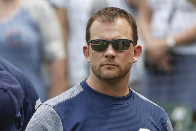 Jayce Tingler will replace former San Diego Padres manager Andy Green (pictured), who was fired in September. File Photo by Kamil Krzaczynski/UPI