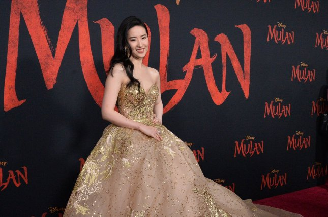 Yifei Liu, star of Disney's live action Mulan, attends a red-carpet premiere of the movie in March, before the coronavirus pandemic closed theaters. Disney ended up releasing the film through its streaming site, Disney+. File Photo by Jim Ruymen/UPI