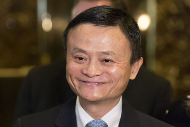 Alibaba founder Jack Ma has been in the spotlight following the suspended IPO of Ant Group, but his e-commerce platform reported record-breaking sales this week. File Pool Photo by Albin Lohr-Jones/UPI