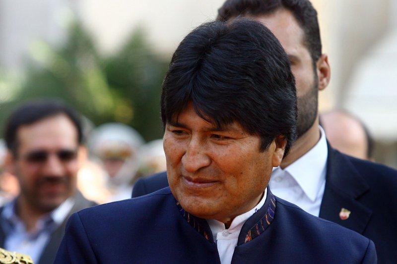 Bolivian President Juan Evo Morales. (UPI/Maryam Rahmanian)