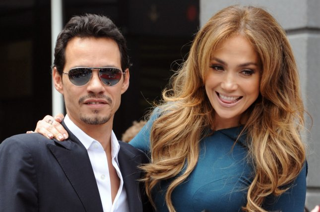 Jennifer Lopez and Marc Anthony. UPI/Jim Ruymen