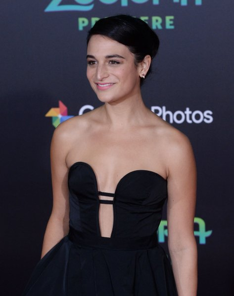 Cast member Jenny Slate, the voice of Bellwether in the animated motion picture family comedy Zootopia attends the premiere of the film at the El Capitan Theatre in Los Angeles on February 17, 2016. Following her split from husband Dean Fleischer-Camp, the actress is reportedly dating co-star Chris Evans. File Photo by Jim Ruymen/UPI