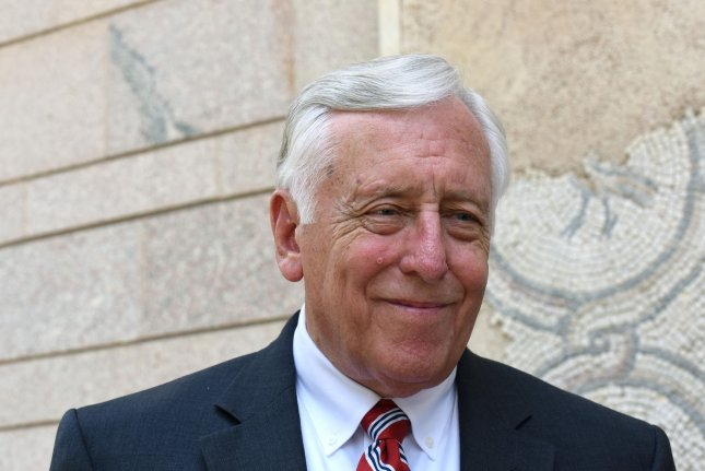 U.S. House minority whip Steny Hoyer was angry that some Republicans changed their vote at the last minute on an amendment to protect members of the LGBT community from being discriminated against by federal contractors. File photo by Debbie Hill/ UPI