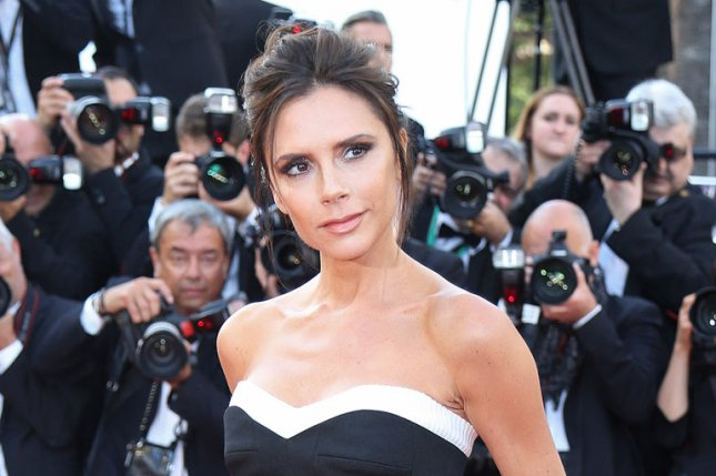 Victoria Beckham at the Cannes International Film Festival screening of Café Society on May 11. File Photo by David Silpa/UPI