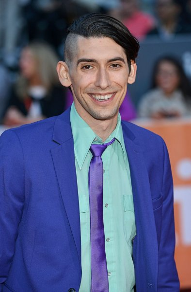 Max Landis arrives at the world premiere of Mr. Right on September 19, 2015. Max will be taking over directing and writing duties for an upcoming remake of his father John Landis' film, American Werewolf in London. FIle Photo by Christine Chew/UPI
