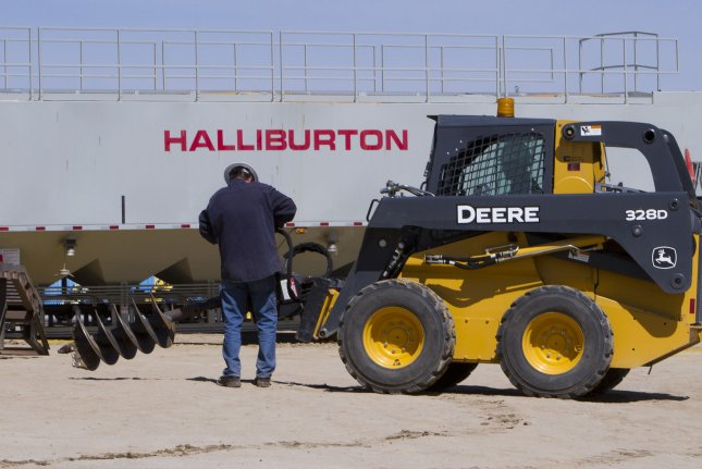 Halliburton still facing headwinds as the global energy market plays catch up, despite an early rebound in North America. File Photo by Gary C. Caskey/UPI