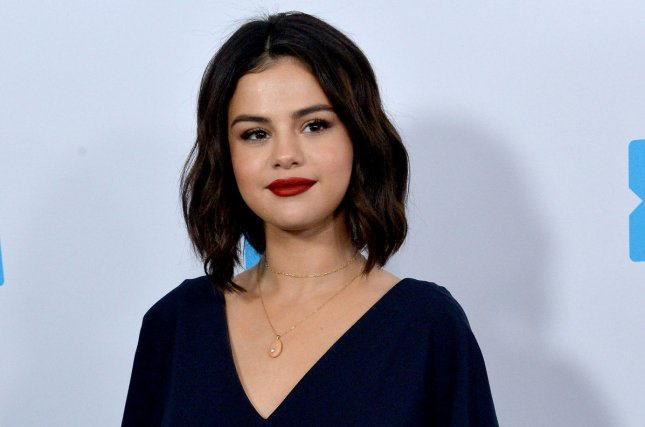 Selena Gomez showed off her freshly-shaved hairstyle Monday on Instagram. File Photo by Jim Ruymen/UPI