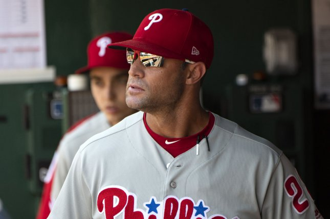 Manager Gabe Kapler led the Philadelphia Phillies to an 81-81 record in 2019.  Photo by Pat Benic/UPI