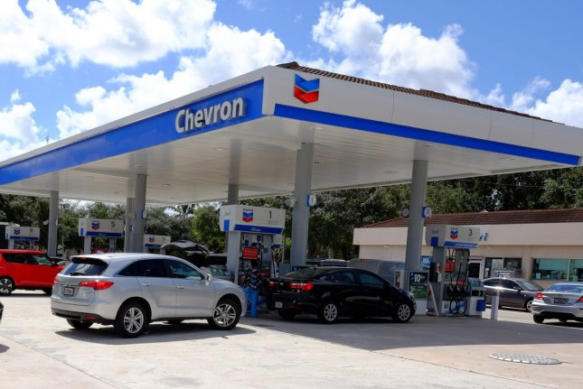 Chevron's performance followed a second quarter in which it lost more than $8 billion. File Photo by Gary I Rothstein/UPI