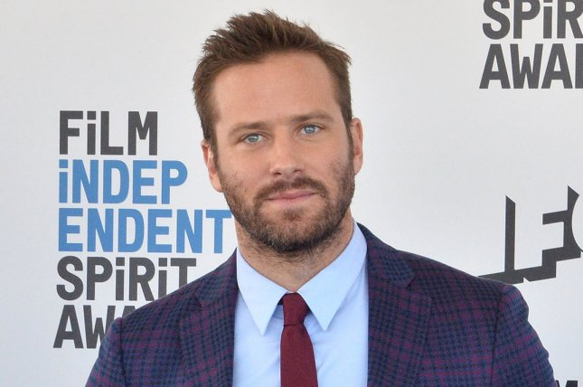 Armie Hammer will star in The Offer, a series about the making of The Godfather. File Photo by Jim Ruymen/UPI