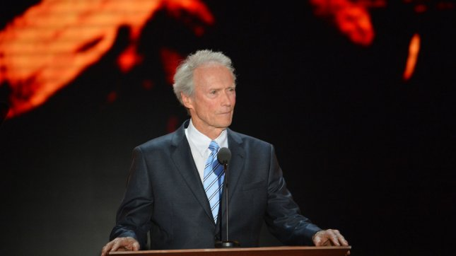 Actor and director Clint Eastwood speaks at the 2012 Republican National Convention at the Tampa Bay Times Forum in Tampa on August 30, 2012. UPI/Kevin Dietsch