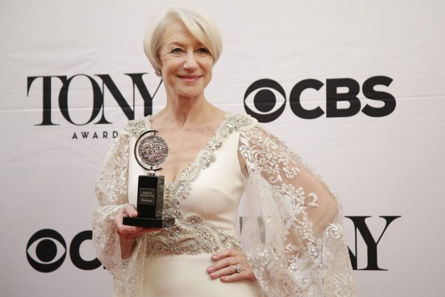 Helen Mirren says she really wants a Grammy Award. Photo by John Angelillo/UPI