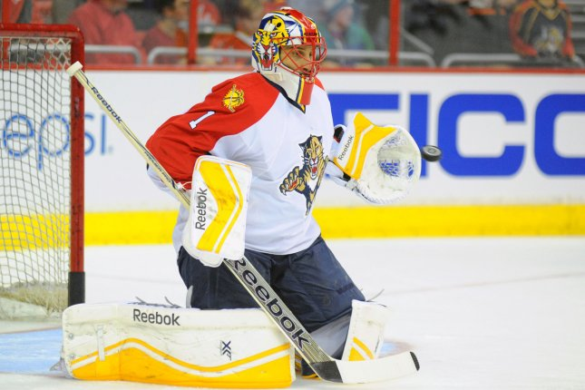 a12388947 Aleksander Barkov scored the decisive goal in the third period and Roberto  Luongo made 34 saves as the Florida Panthers defeated the Los Angeles Kings  3-2 ...