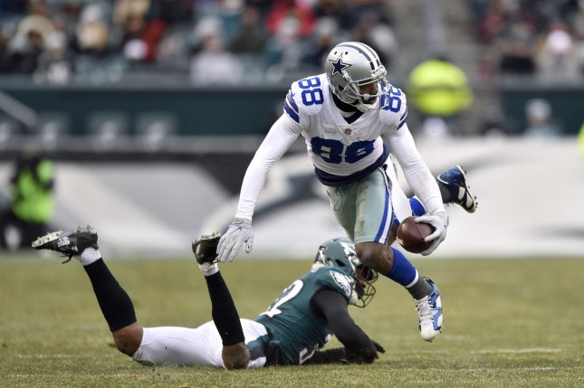 Dallas Cowboys receiver Dez Bryant runs after making a catch during a game against the Philadelphia Eagles in December. Photo by Derik Hamilton/UPI