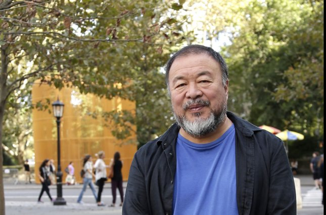 Chinese officials demolished artist Ai Weiwei's Bejing studio. Ai said there was no advanced warning for the demolition which began on Saturday. File Photo by John Angelillo/UPI
