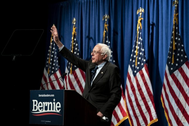 Sanders' plan would make two- and four-year public institutions tuition-free. File Photo by Alex Edelman/UPI