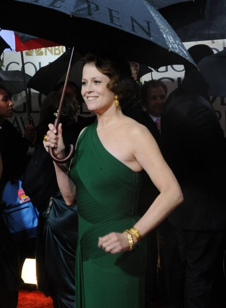 Sigourney Weaver arrives at the 67th annual Golden Globe Awards at the Beverly Hilton on January 17, 2010 in Beverly Hills, California. UPI /Jim Ruymen